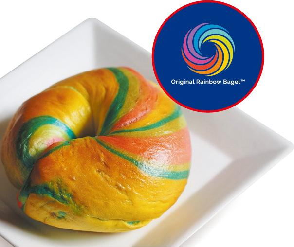 Original Rainbow Bagle